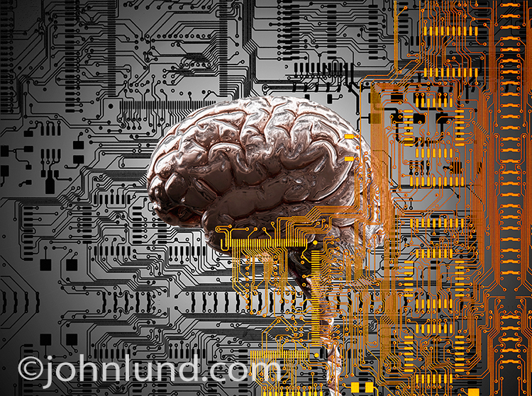 An Artificial Intelligence Stock Photo