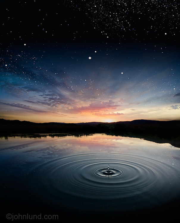 Hot Water, Kickstarter And A Beautiful Photo!