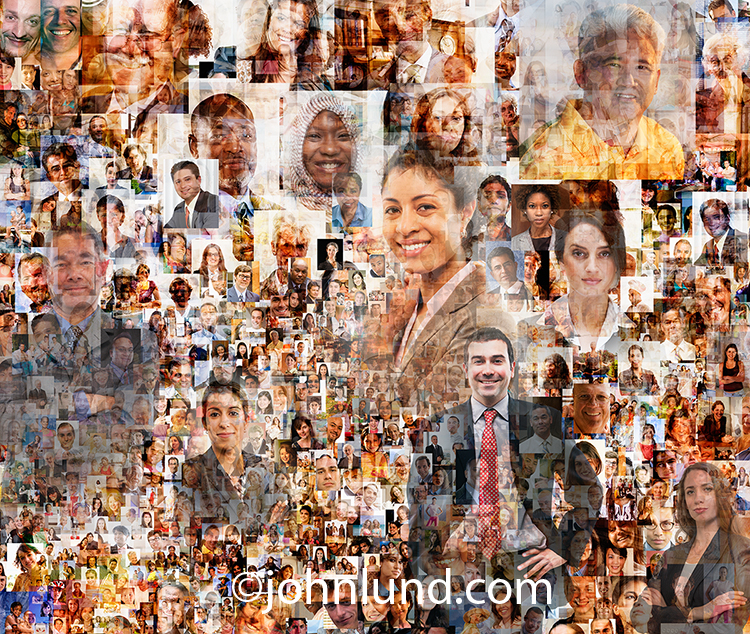Anatomy of A Social Media Stock Image