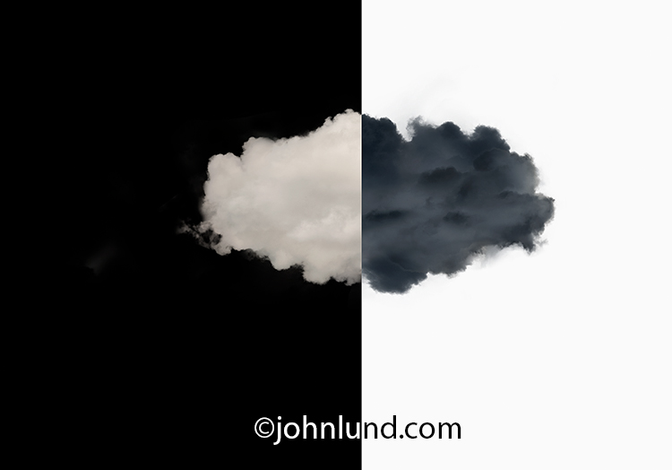 Pros And Cons Of Cloud Computing Stock Photo