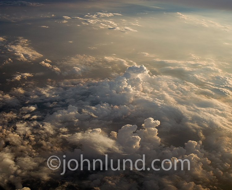 Background of High Altitude Clouds