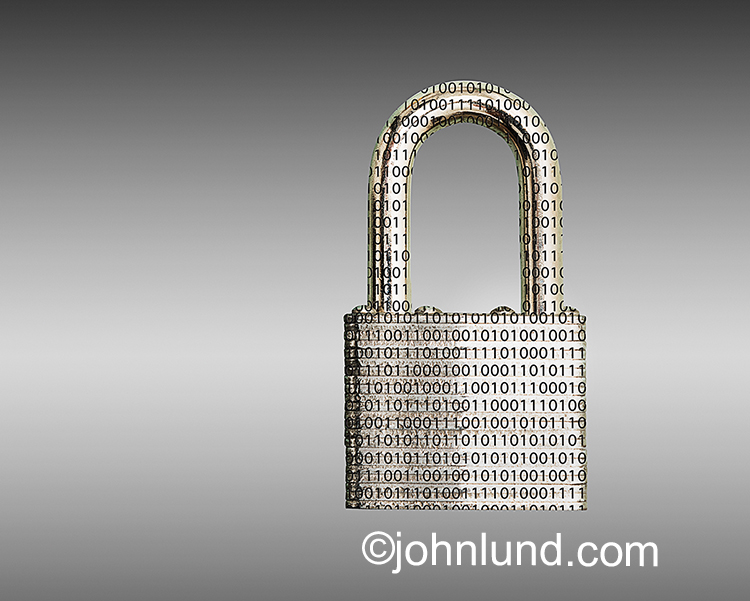 Network And Online Security Stock Photo