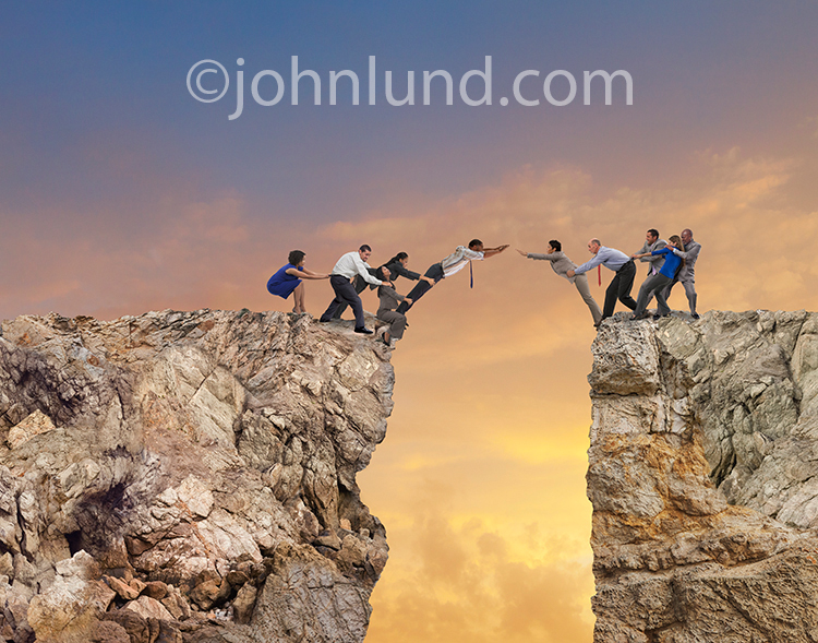Bridging the Gap With Team Work