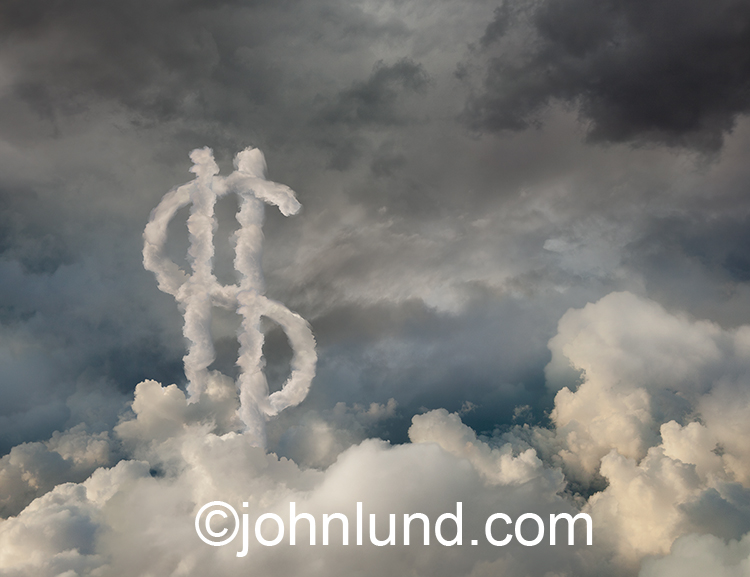 Dollars In The Cloud