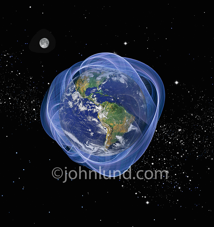 Energy Field Surrounding The Planet Earth
