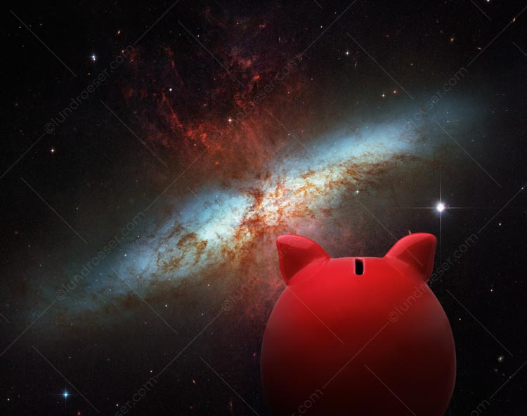 Investment Universe Piggy Bank
