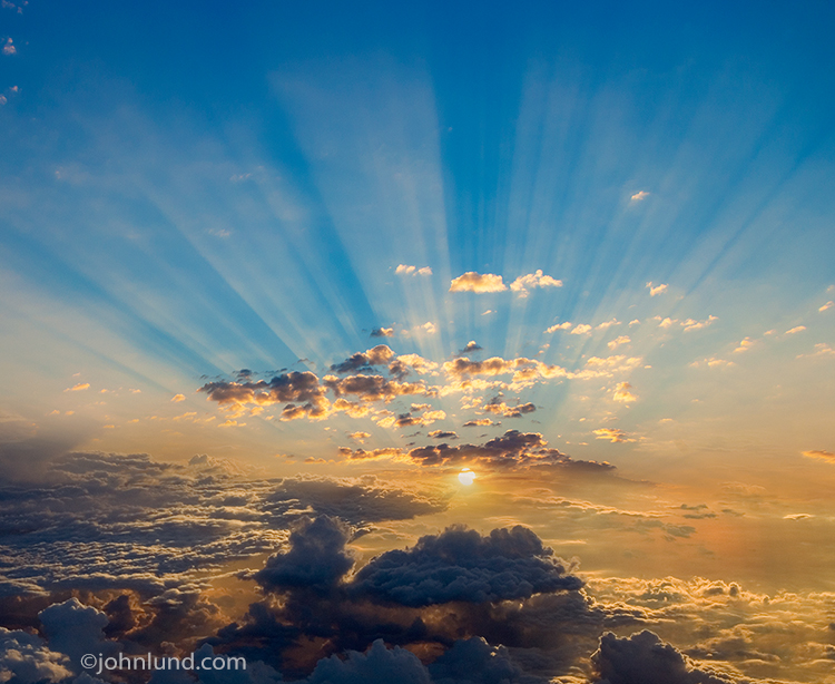 God Ray Clouds