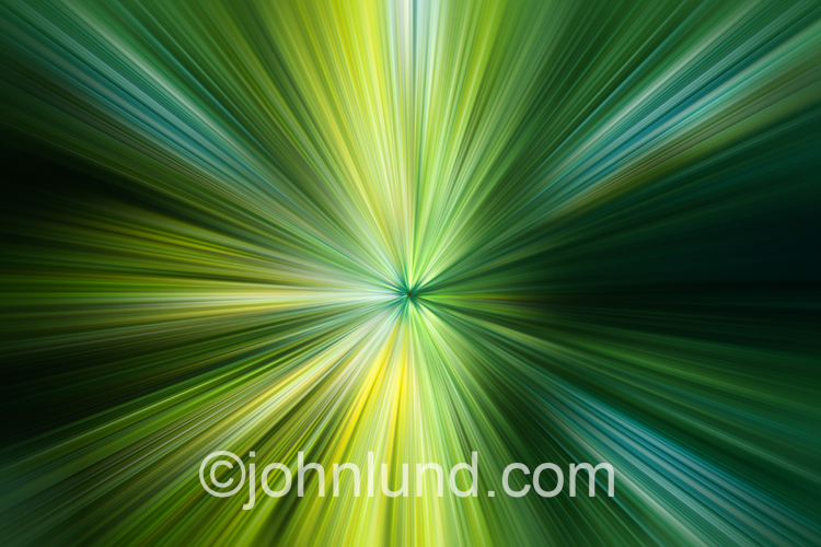 Green Lights Zooming