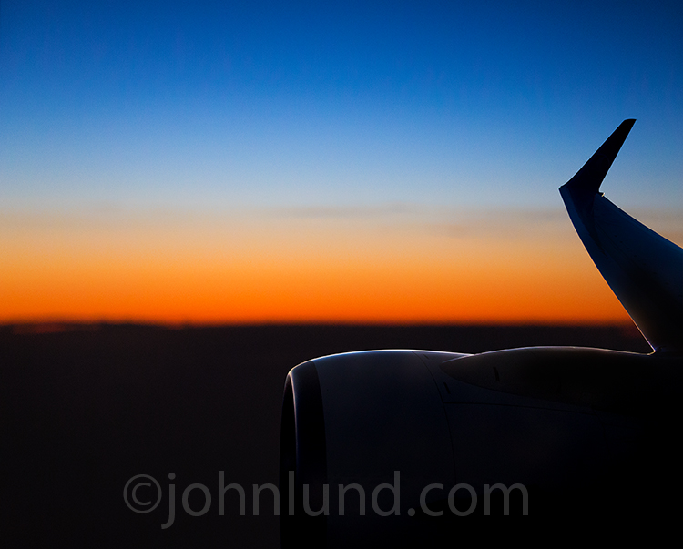 Sunrise Jet Aircraft Flight