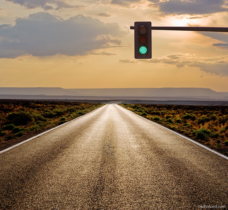 The Long Road And A Green Light