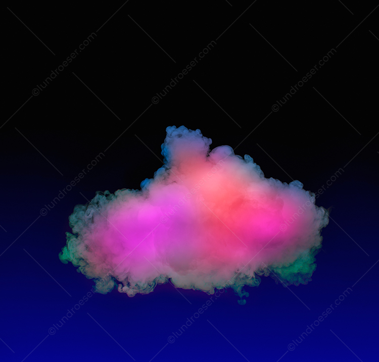 Multi-Colored Cloud