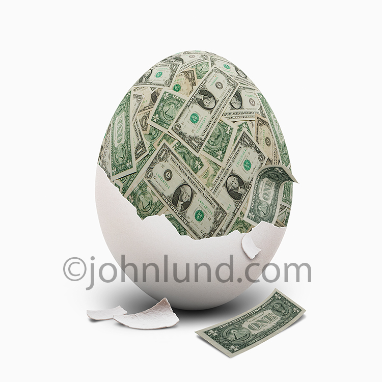 Retirement Nest Egg Of Money
