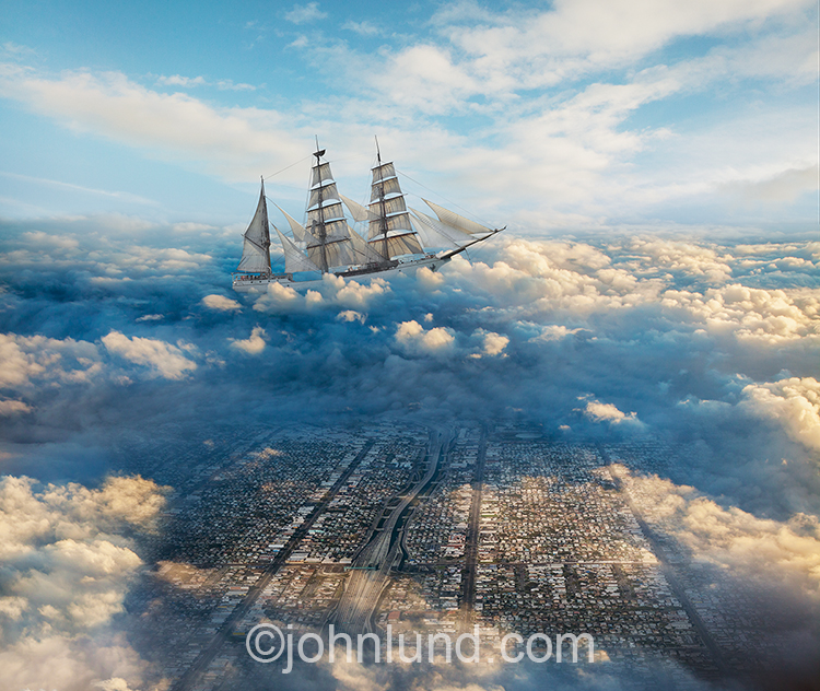 Sailing Through Clouds
