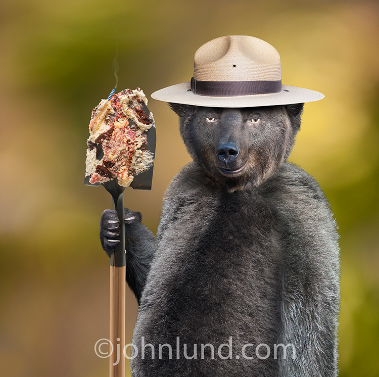 Smokey The Bear Birthday Parody Picture