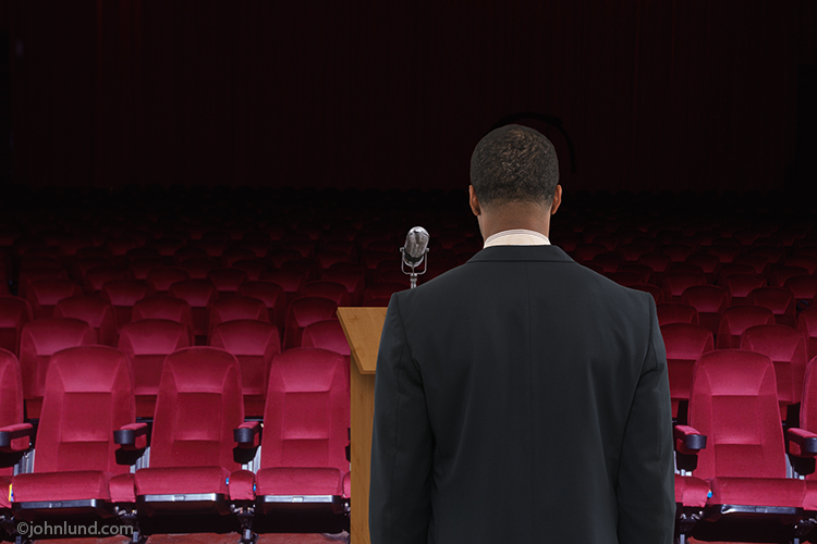 Speaking To An Empty Theater