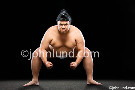 Sumo Challenge - Big Bad Assed Sumo Wrestler