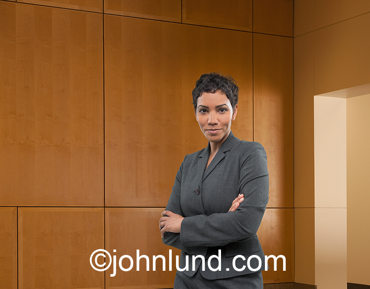African American Woman Executive Portrait