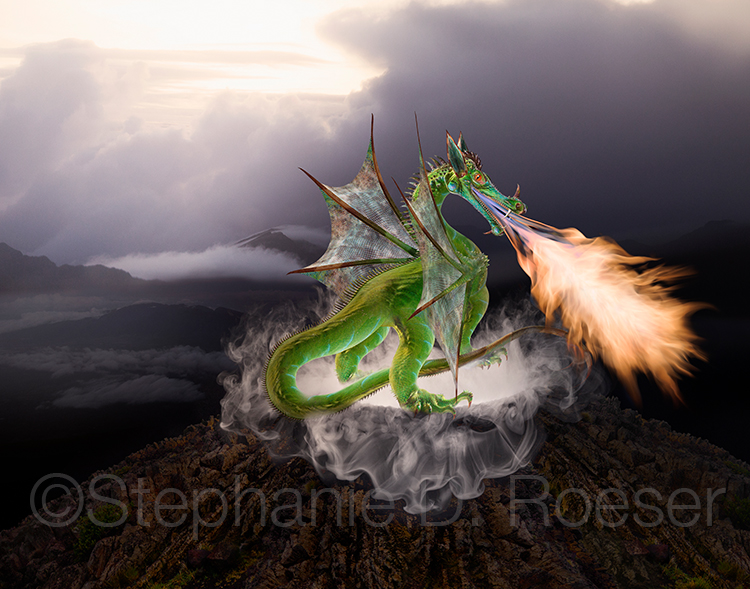 Dragon Guarding Caldera